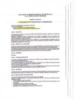 Cahier des charges pour les chantiers d'incinération