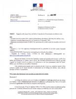 Circulaire sur le risque Feux de Forêt et l'interdiction d'incinération des déchets verts