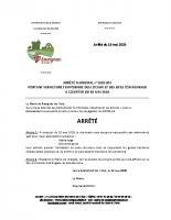 Arrêté n2020-003 arrêté portant fermeture temporaire des locaux et sites communaux à compter du 18 05 2020