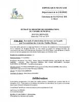Délibération du conseil municipal 04-2014.travaux asso. vieilles pierres