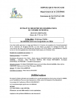 Délibération du conseil municipal 06-2014.EP Sillat