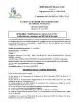 Délibération du conseil municipal 13-2014.CALI-Cotisation SDIS