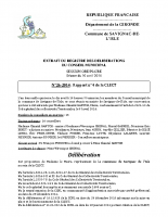 Délibération du conseil municipal 26-2014.CLECT N°4